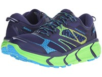 Hoka One One Challenger Atr 2 Astral Aura Neon Green Men's Running Shoes Blue