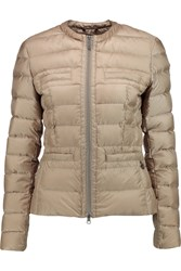 Add Quilted Shell Jacket White
