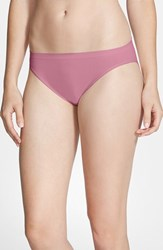 Nordstrom Women's Lingerie Seamless High Cut Briefs Purple Bordeaux
