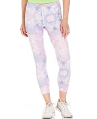 Helly Hansen Vtr Printed Capri Leggings Bright Sky