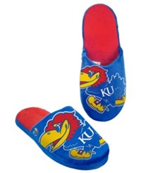 Forever Collectibles Men's Kansas Jayhawks Big Logo Slippers