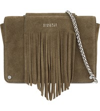 Claudie Pierlot Azteque Suede Cross Body Bag