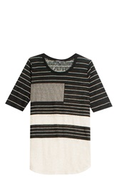 Vince Abstract Line T Shirt