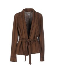 Meatpacking D. Suits And Jackets Blazers Women Khaki