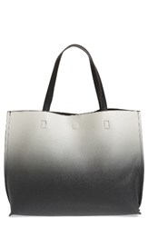 Street Level Ombre Reversible Faux Leather Tote