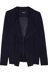 Magaschoni Pointelle Knit Cashmere Cardigan