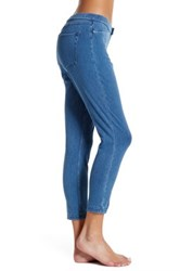 Hue Super Smooth Denim Capri Legging Blue