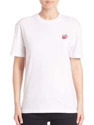 Mcq By Alexander Mcqueen Cotton Crewneck Tee Optic White