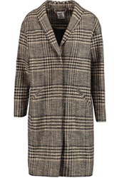 Iris And Ink Tallulah Linton Tweed Coat Nude