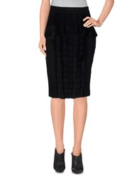 Gaetano Navarra Skirts Knee Length Skirts Women Black