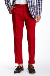 Paisley And Gray Slim Flat Front Trouser Red