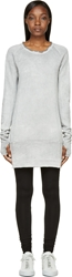 Ma Julius Grey Mottled Sweatshirt