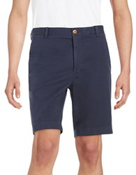 Brooks Brothers Cotton Stretch Shorts Blue