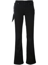 Jacob Cohen Flared Trousers Black