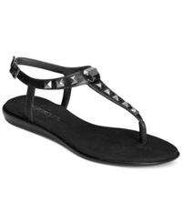 Aerosoles Chlose Together Flat Thong Sandals Women's Shoes Black