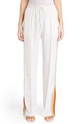 Chloe Women's Chloe Rainbow Stripe Track Pants