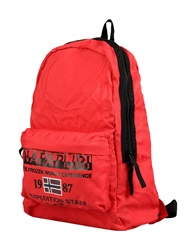 Napapijri Backpacks And Fanny Packs Red