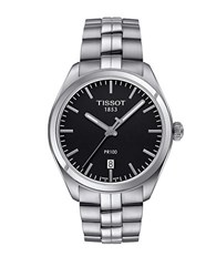 Tissot Mixed Metal Stainless Steel Watch Silver