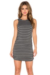 Saint Grace Holy Muscle Tank Dress Charcoal