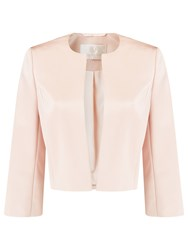Jacques Vert Satin Bolero Light Neutral