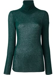 Stefano Mortari High Neck Jumper Green
