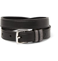 Polo Ralph Lauren Leather Wrap Bracelet Dark Brown