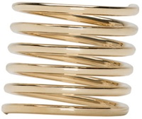 Sophie Bille Brahe Gold Pirouette Grand Ressort Ring