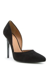 Qupid Rand High Heel D'orsay Pump Black
