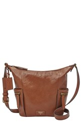 Fossil 'Small Emerson' Hobo Bag Brown