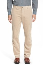 Vineyard Vines Straight Leg Stretch Corduroy Pants Beige