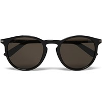 Gucci Round Frame Acetate Sunglasses Black