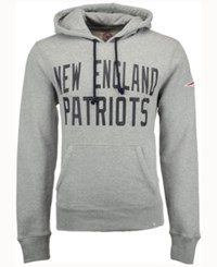 47 Brand '47 Men's New England Patriots Crosscheck Hoodie Gray