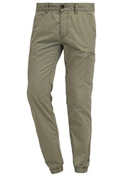 Edc By Esprit Cargo Trousers Olive
