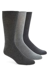 Calvin Klein Men's Cotton Blend Socks Grey