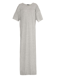 Baja East Jersey Maxi Dress