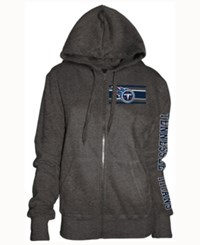 5Th And Ocean Women's Tennessee Titans Backfield Le Hoodie Charcoal