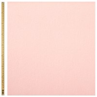 Unbranded Coat Material Fabric Pale Pink