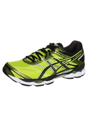 Asics Gelcumulus 16 Cushioned Running Shoes Lime Black Lightning Green