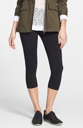 Women's Nordstrom 'Go To' Capri Leggings Black