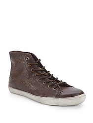 Frye Chambers Cap High Sneakers Brown