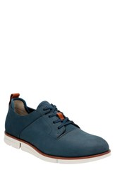 Men's Clarks 'Trigen Walk' Oxford Navy Nubuck