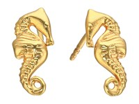 Alex And Ani Post Earrings Seahorse Gold Earring