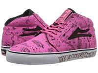 Lakai Fura High X Lena Dunham Bubble Gum Canvas Women's Skate Shoes Pink