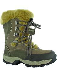 Hi Tec St Moritz 200 Waterproof Winter Boots Cream
