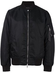 Rag And Bone Classic Bomber Jacket Black