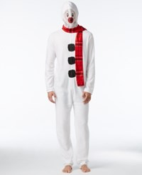 American Rag Men's 1 Pc. Snowman Costume Only At Macy's White