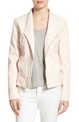 Women's Sam Edelman Asymmetrical Zip Faux Leather Jacket