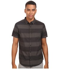Tavik Shin Woven Short Sleeve Shirt Black Black Men's Short Sleeve Knit