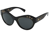 Versace Ve4320 Black Dark Grey Fashion Sunglasses