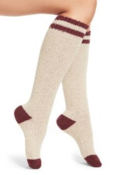 Urban Knit Women's Stripe Knee High Socks